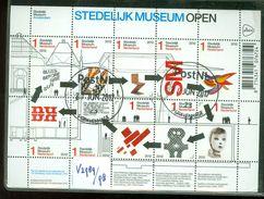 NEDERLAND NVPH  V.2989 - 98 *   BLOK BLOC * BLOCK * GEBRUIKT *  POSTFRIS GESTEMPELD - Period 1980-... (Beatrix)