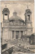 X376 Valmontone (Roma) - Il Duomo Cattedrale / Viaggiata 1926 - Autres Villes