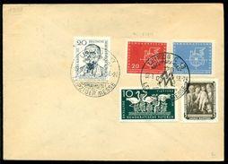 DDR 1958 Brief Mit Mi 534, 552, 586 Und 618-619 Nicht Gelaufen - DDR