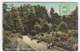 Botanical Gardens Wellington New Zealand 1910s Postcard - New Zealand