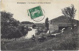 54 - CROISMARE - La Vezouze Et La Ferme De Beaulieu. Animée. - Francia