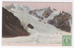 Mount Tasman Hochstetter Ice Fall Southern Alps New Zealand 1910c Postcard - New Zealand