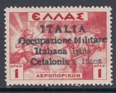 ITALY - CEFALONIA E ITACA - N. A13 Sopr. Di Agrostoli - Cv 400 Euro - GOMMA INTEGRA - MNH** - Occupation 2ème Guerre Mond. (Italie)
