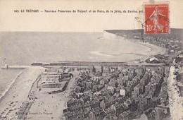 CPA Le Tréport - Nouveau Panorama Da Tréport Et De Mers, De La Jetée, Du Casino (31056) - Le Treport