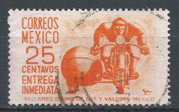 Mexico 1954. Scott #E14 (U) Motorcycle Sidecar - Mexique