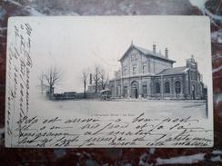 Bouchain (nord) La Gare Vinstock Bernier Bon état 1902 - Bouchain