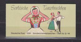 DDR MH 5 I/4 Postfrisch (15480) - Booklets