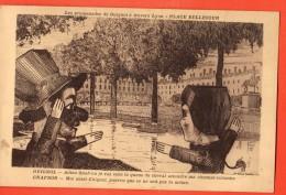 MIG-22  Les Promenades De Guignol à Travers Lyon, Dialogue Avec Gnafron. Circulé - Teatro