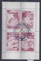 Bloc Feuillet Exposition Philatelique Nice 1931** - Philatelic Fairs