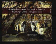 ÖSTERREICH - Mi-Nr. Block 73 Adelsberger Grotte/Höhle Von Postojna Gestempelt - Blocs & Feuillets