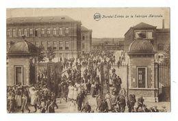 Herstal - FN Entrée Très Animée De La Fabrique Nationale - Circulé 1934 - Timbre Décollé Proprement - Herstal
