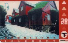 TARJETA TELEFONICA DE ISLAS FEROE. (755) - Faroe Islands