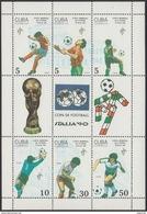 Cuba 3001/3006 ** MNH. 1990 Minipliego - Cuba