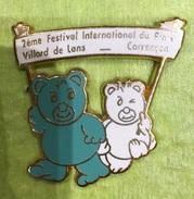 2 EME FESTIVAL INTERNATIONALE DU PINS VILLARS DE LANS OURS - Badges