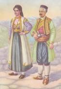 Postcard Montenegrin National Costume  My Ref B22000 - Montenegro