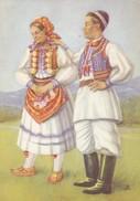 Postcard Croatian National Costume With Unused Stamp  My Ref B22001 - Croatia