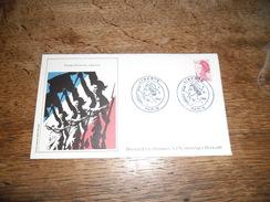 Enveloppe Premier Jour D'émission, Pierre Gandon Graveur, 3 Septembre 1982, Dessin Original Agnès Kriegel - Other