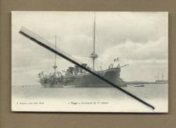 """CPA   - """"Tage"""" Croiseur De 1re Classe  - Bateau , Bateaux - Ships"""