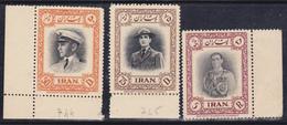 Iran 1950 Yv. 744,745,748 . MNH** - Iran