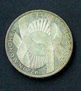 GERMANIA YEAR 1972 -   VERY FINE - SILVER -  10 MARCHI OSSIDO NATURALE NON PULITA - GIOCHI OLIMPICI A MONACO - [10] Commémoratives
