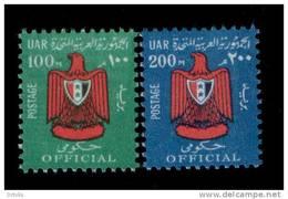 EGYPT / 1967 OFFICIAL / SG O927-8 / MNH / VF . - Egypt