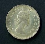 SOUTH AFRICA YEAR 1957 -   FINE - SILVER -  2 1/2 S. OSSIDO NATURALE NON PULITA - Afrique Du Sud
