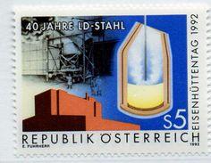 PIA - AUSTRIA - 1992 : Giornata Nazionale Della Siderurgia - (Yv 1893) - 1991-00 Unused Stamps