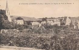 Carte De Saint étienne De Chigny  ( Recto Verso ) - Other Municipalities