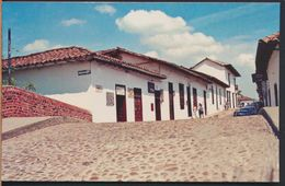 °°° 9375 - COLOMBIA - CALLE COLONIAL EN GIRON °°° - Colombia