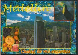 °°° 9385 - COLOMBIA - MEDELLIN - CIUDAD DE MIL ENCANTOS °°° - Colombia