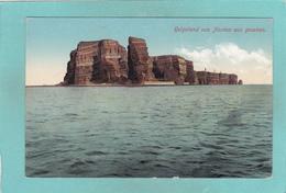 Old Postcard Of Heligoland, Schleswig-Holstein, Germany,V21. - Helgoland