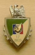 INSIGNE 17° REGIMENT DE COMMANDEMENT ET DE SOUTIEN / FAR / FORCE D'ACTION RAPIDE - Armée De Terre