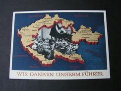 Bildkarte Adolf In Prag Roter SST 1939 - Allemagne
