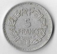 France 1947 (closed 9) 5 Francs [C550/2D] - France