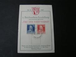 Nienburg Weser  1947 Briefmarken Ausstellung 1947 - Gemeinschaftsausgaben