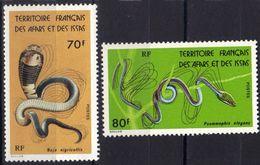 Afars Et Issas N°436 - 437 ** Serpents, à Moins De 30% De La Cote - Afars E Issas (1967-1977)