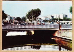 X66158 PERPIGNAN (66) La BASSE Pont  Automobiles 1960s CITROEN Traction 2 Cv Tube , VW Coccinelle RENAULT Dauphine - Perpignan