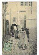CPA TUNISIE TUNIS RUE EL-MONASTIRE - Tunisie