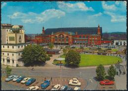 Ansichtskarte Foto Bremerhaven Hauptbahnhof Eisenbahn Autos Nach Hamburg - Deutschland