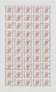 COB 1543 ** - Feuille Complète - Coin Daté Du 12/08/1970 - Numéro De Planche 3 - Full Sheets