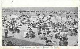 Ostende (Oostende) - La Plage - Belle Animation (transat, Vélos) - Phototypie A. Dohmen, Carte Albert N° 45 - Oostende