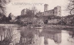 BE17- BOURDEILLES  EN DORDOGNE  LE DONJON POLYGONAL - France