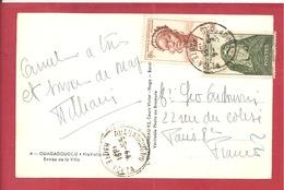 Y&T N°34+37 OUAGADOUGOU    Vers  FRANCE  1951  2 SCANS - A.O.F. (1934-1959)