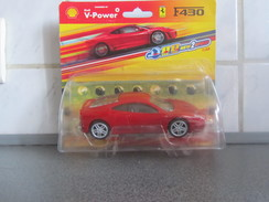 BW65 Hotwheels, Shell, Ferrari F430 à Friction, Neuve Sous Emballage, 1/38 - Auto's, Vrachtwagens, Bussen