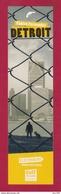 Marque Page. Bookmark. Fabien Fernandez.  Détroit.  Editions Gulf Stream - Marque-Pages
