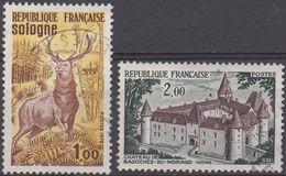 FRANCE  N°1725/1726__OBL VOIR SCAN - Francia