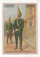 Chromo La Chicorée G. Black (Cambrai). Armée Russe, Infanterie, Garde Impériale. Regt. De Paulowski - Tee & Kaffee