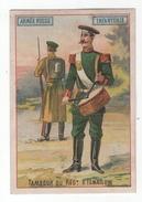 Chromo La Chicorée G. Black (Cambrai). Armée Russe, Infanterie, Tambour Du Régt. D'Ismailow - Tee & Kaffee