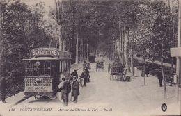 CPA - 77 - FONTAINEBLEAU - Avenue Du Chemin De Fer - 144 - Fontainebleau