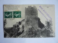 "AMBULANT CONVOYEUR ""SEVERAC A NEUSSARGUES"" 1910 AVEYRON CANTAL GARABIT CP HAUTE LOIRE CHÂTEAU D'ARZON CHOMELIX - Bozouls"